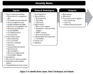 PMBOK Process: Identify Risks