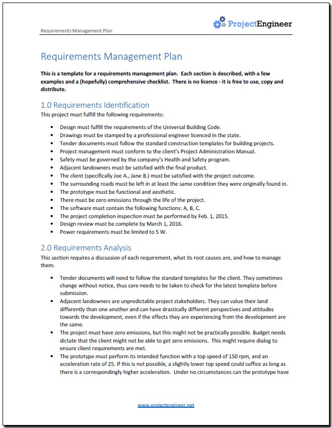 Do You Need A Requirements Management Plan - What is requirements management