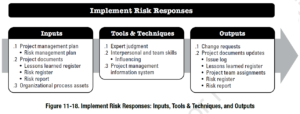 PMBOK Process:  Implement Risk Responses