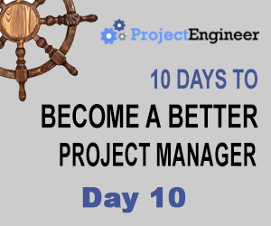 10 Days to Become a Better Project Manager - Day 10