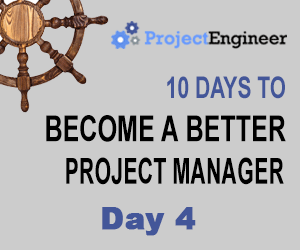 10 Days to Become a Better Project Manager - Day 4