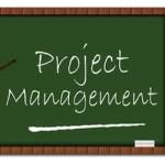 Project management blackboard
