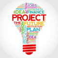 Project management light bulb