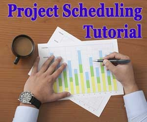Project scheduling tutorial