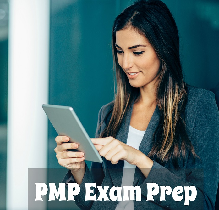 Viewing PMP Exam on Tablet