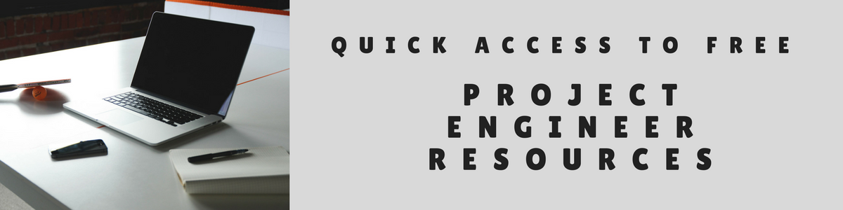 Project Engineer Resources