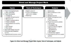 PMBOK Process: Direct and Manage Project Work