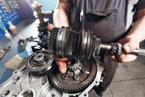 performing root cause analysis on a broken gearbox