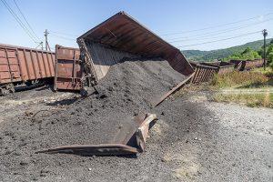 train derailment and cleanup